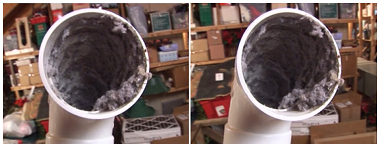 PVC pipe NOT recommended for dryer venting! & Appliance411 FAQ: How long can my dryer vent be?