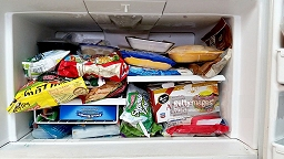 Freezer packed full!
