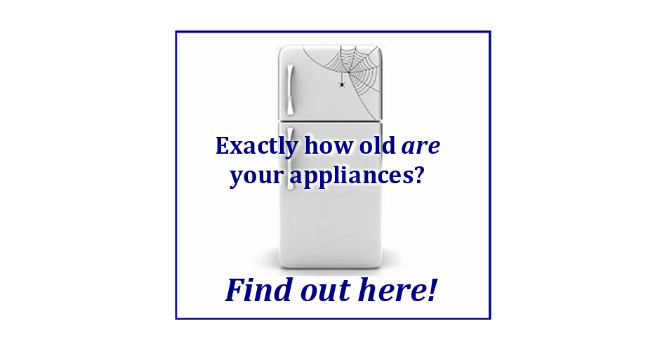 Appliance411: Service: How old is my appliance? Age finder